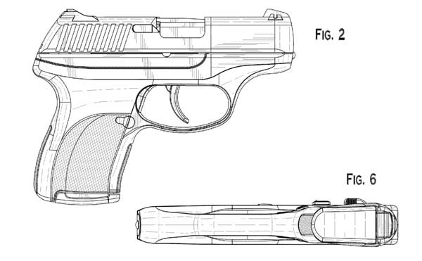 Ruger LC9 Patent