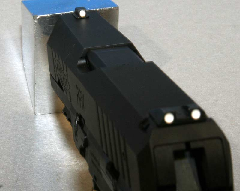 Walther PPX sights