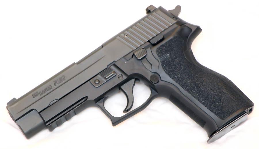 SIG P226 without flashlight