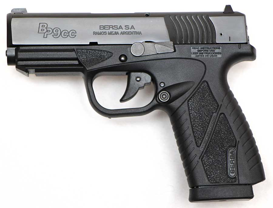 Bersa BP9CC evaluation