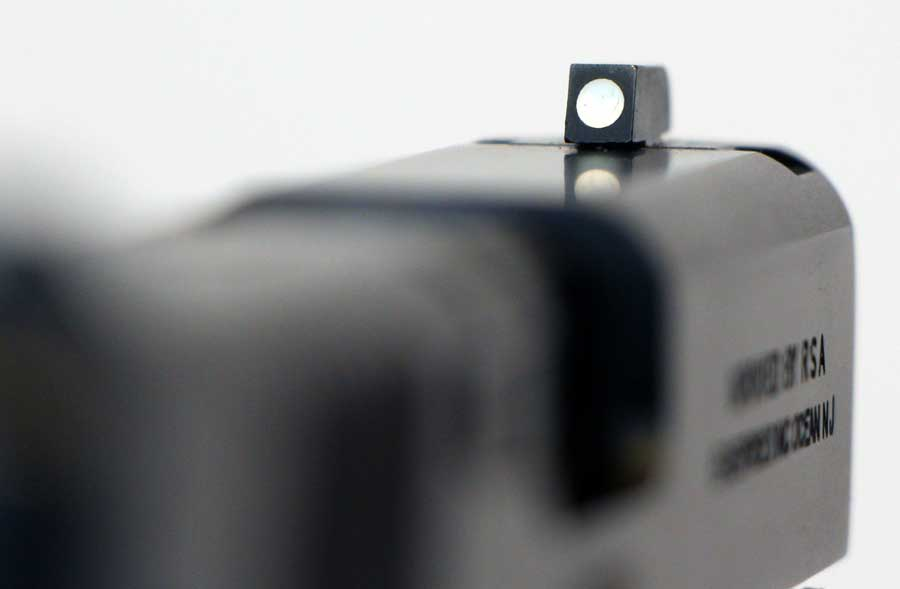 Bersa BP9CC front sight