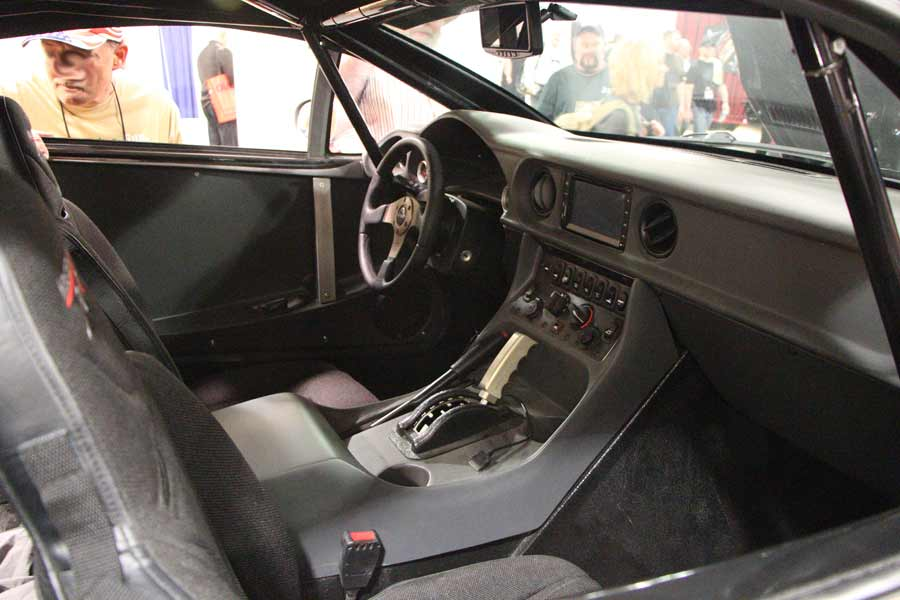 Rally Fighter Interior