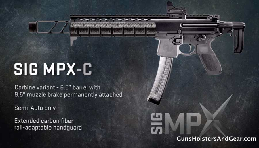 SIG MPX-C carbine