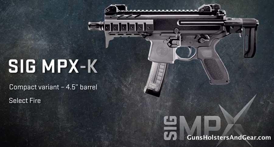 SIG MPX-K