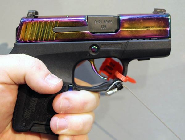 SIG P290 Rainbow review