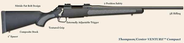 TC Venture Compact gun