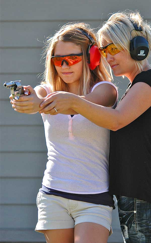 mother daughter revolver