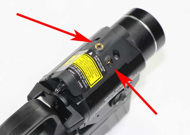 Streamlight TLR-2 adjustments