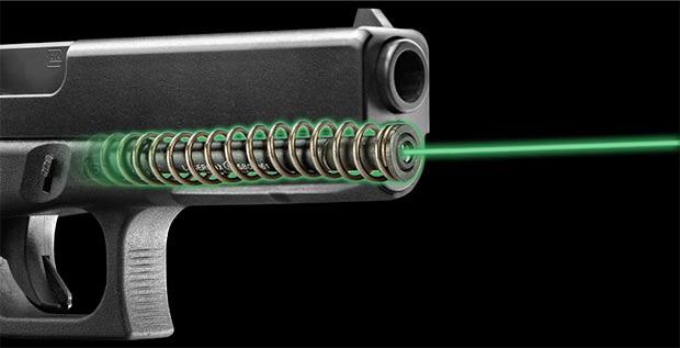 LaserMax green guide rod
