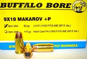 9x18 Makarov self defense ammuntion