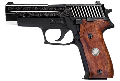 SIG P226 Engraved pistol