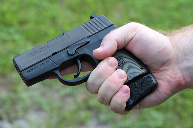 SIG P290 enhanced review