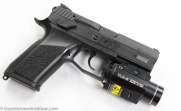 CZ with weapon light