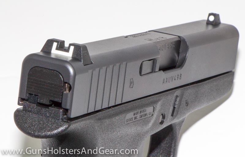 Glock 42 sights