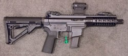 Angstadt Arms 9mm SBR and Pistol