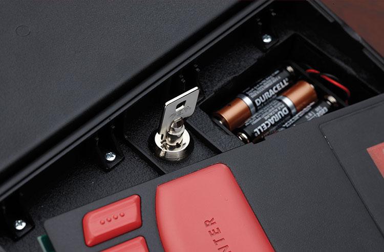 Hornady Rapid Safe key access