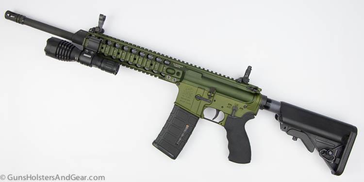 ExtremeBeam M600 mounted on rifle