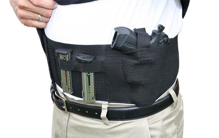 Belly Band Handgun Holster