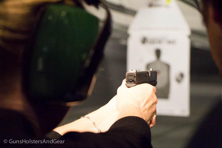 shooting the Glock 43