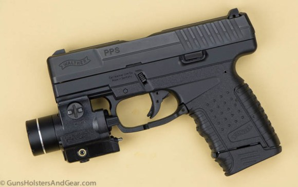 Walther PPS with Streamlight TLR-4