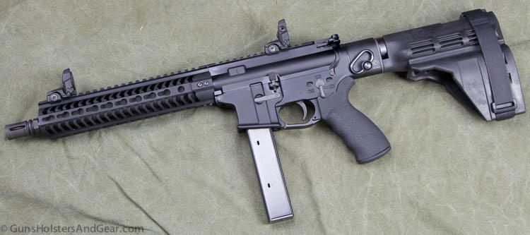Black Creek Precision 9mm pistolBlack Creek Precision 9mm pistol
