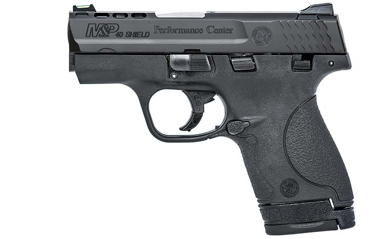 Smith and Wesson Ported Shield Pistol