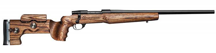 Weatherby Vanguard Laminate H-Bar rifle