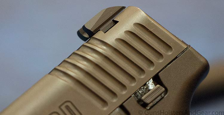 honor guard rear sight