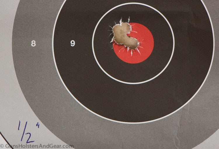 Winchester PDX1 ammo out of a carbine