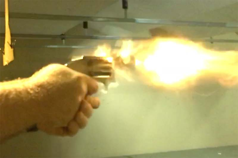 Muzzle Flash test