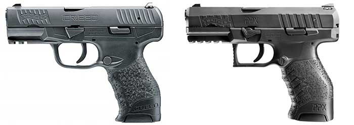 walther creed vs ppx comparison