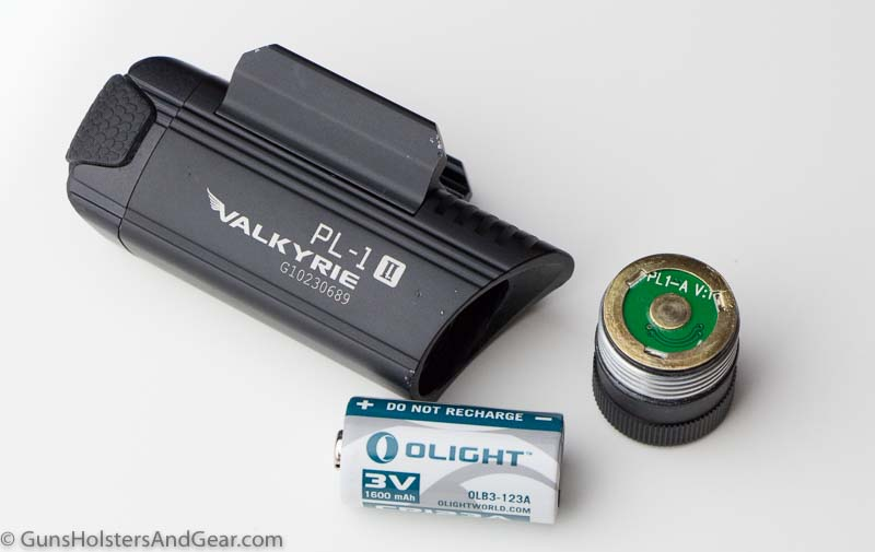 battery used in the Olight Valkyrie
