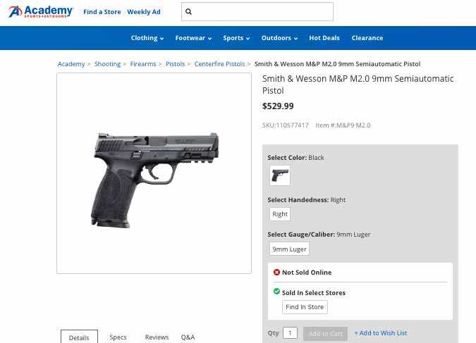 new Smith & Wesson pistols
