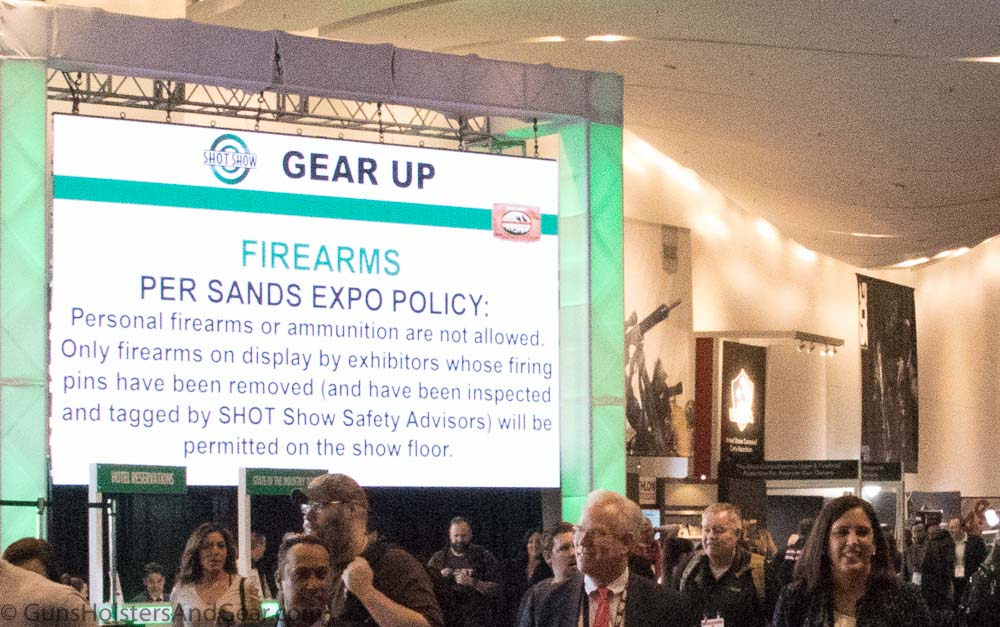 SHOT Show Firearms Policy