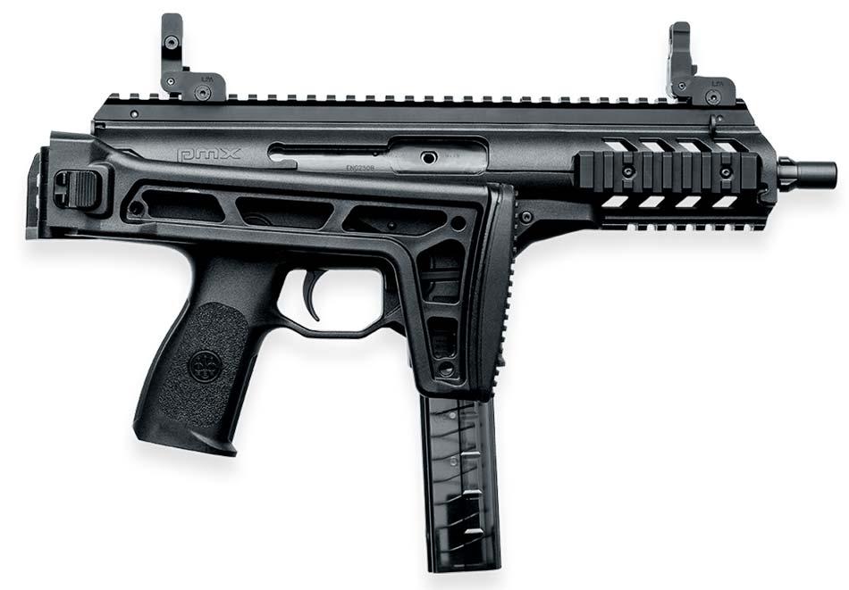 Beretta PMX SMG folded