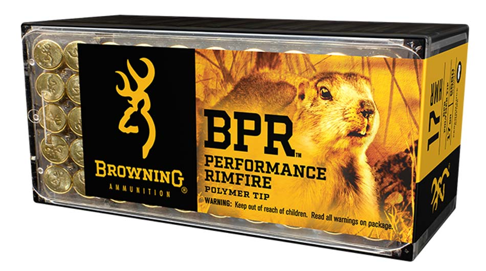 Browning Performance Rimfire 17 HMR ammo
