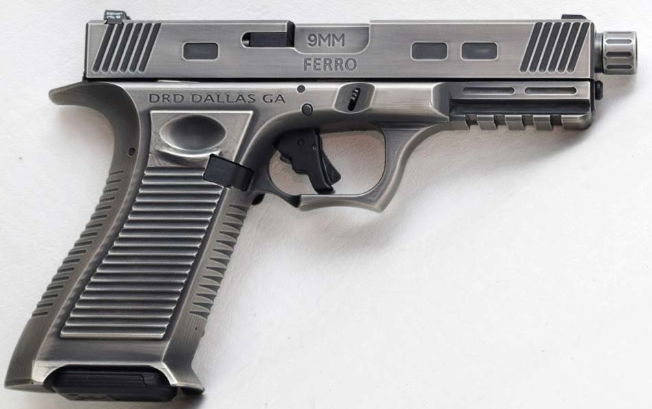 FERRO 9MM PISTOL FROM DRD TACTICAL: STEEL FRAME GLOCK - Calguns.net