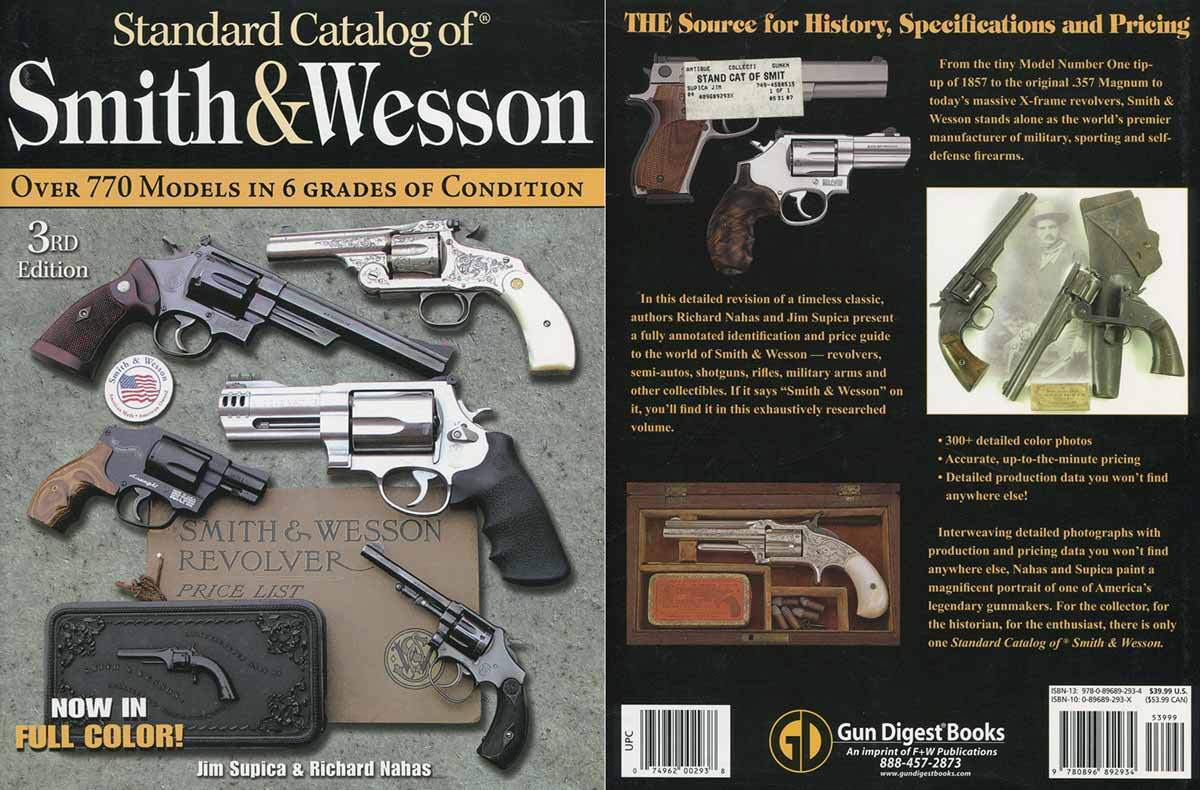 Smith and Wesson Standard Catalog third edition