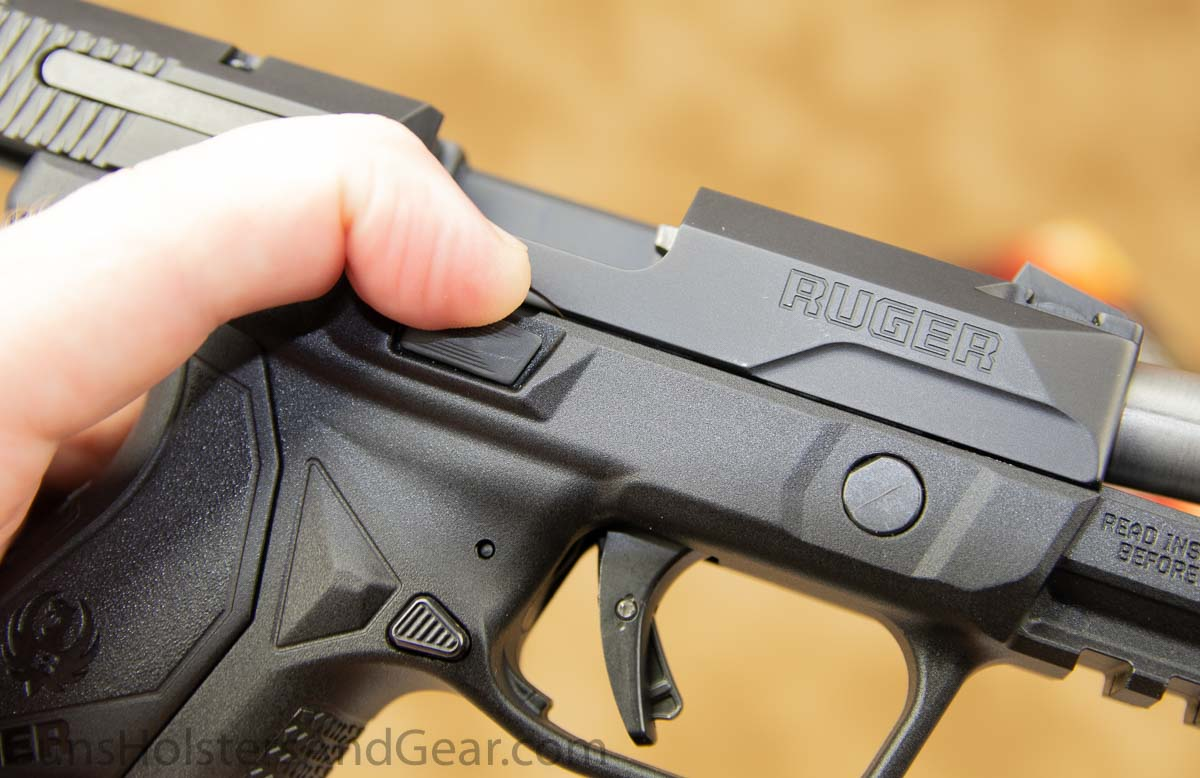 Ruger American 9mm Compact Ambidextrous Controls