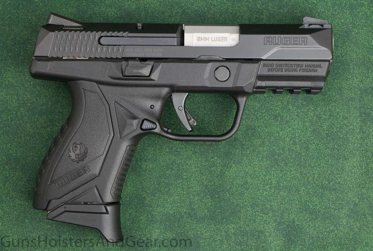 Size of Ruger American Pistol Compact