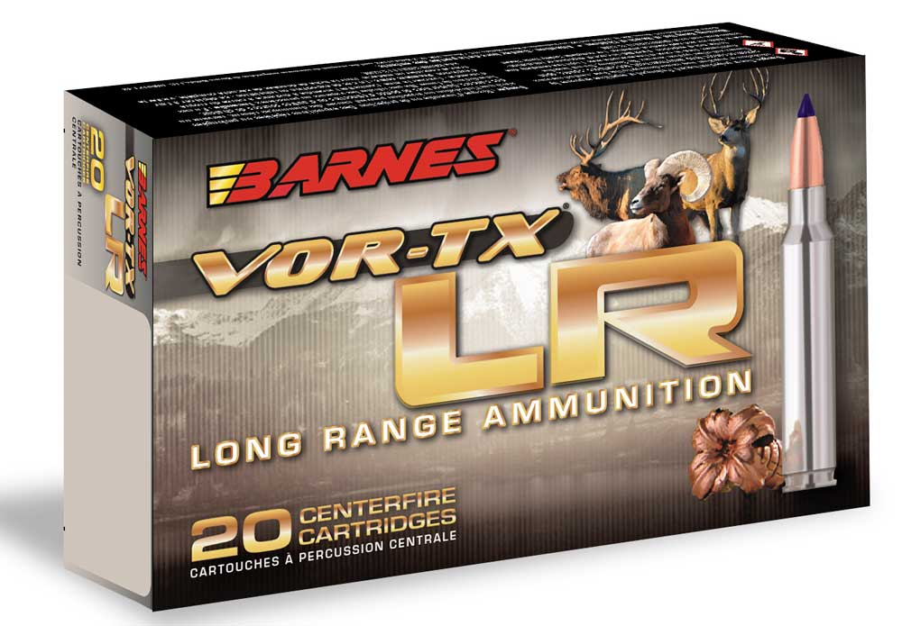 Barnes VOR-TX LR Ammunition for 2019