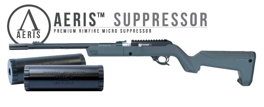 TacSol Aeris Rimfire Sound Suppressor