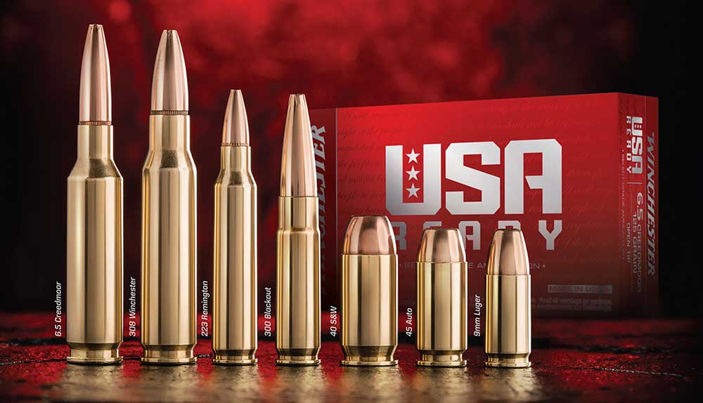 Winchester USA Ready Ammunition New for 2019