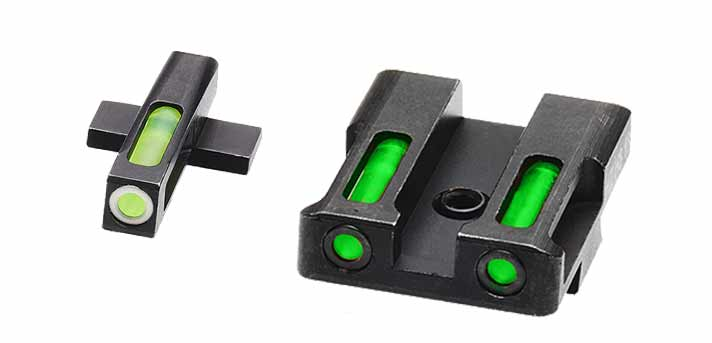 HiViz Litewave H3 Sights for Springfield Armory XDS Pistol
