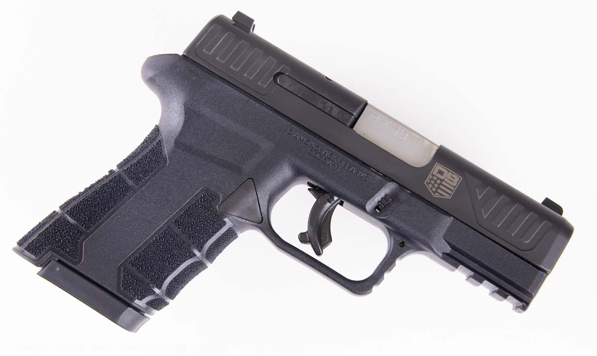 Side View of the AM2 Pistol