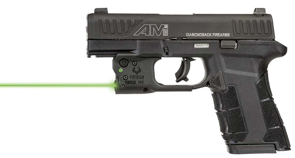 Viridian Green Laser for Diamondback AM2