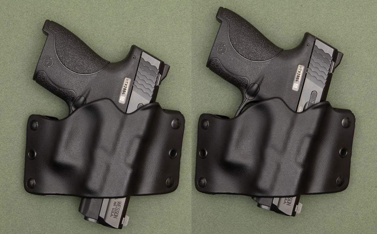 Smith & Wesson Shield in Phalanx Defense Systems Holsters