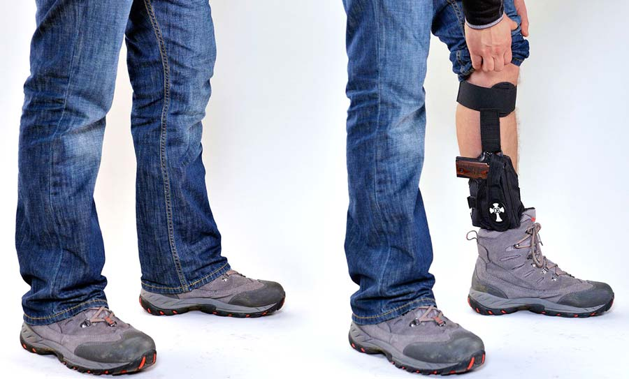 Naroh N1 in CrossBreed Ankle Holster