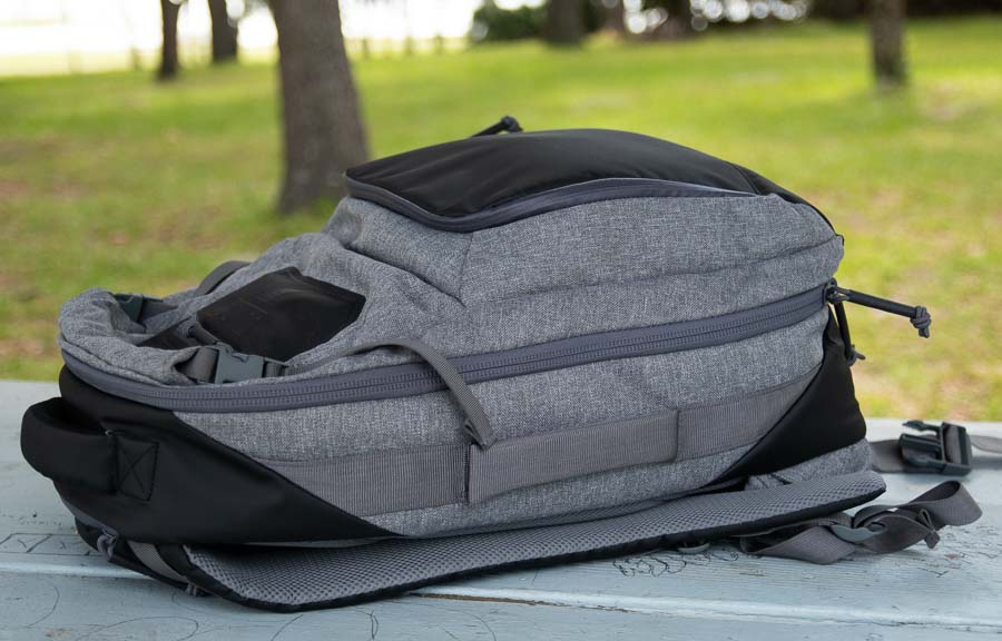 Side of Best Rifle Case Backpack