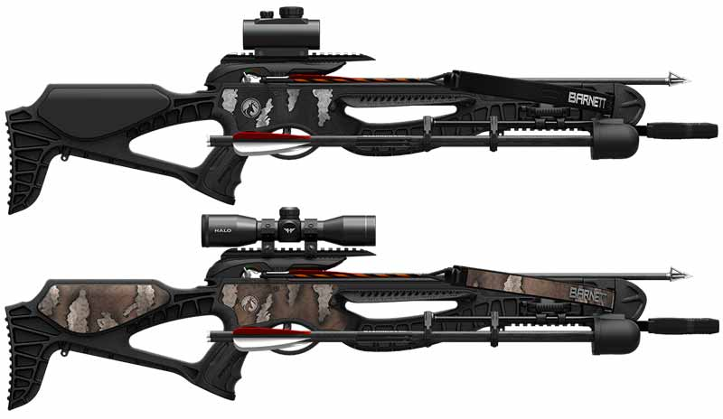 Barnett Blackcat and Wildcat Crossbows